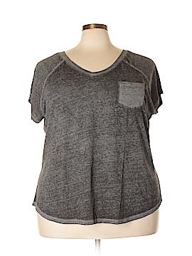Lane Bryant Outlet Short Sleeve T-Shirt Size 28 - 26 (Plus)