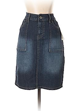 Style&Co Denim Skirt Size 4 (Petite)