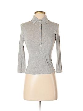 Shine New York 3/4 Sleeve Button-Down Shirt Size S