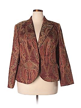 August Silk Blazer Size 20 (Plus)