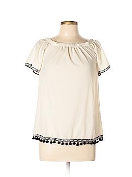 Paper Crane Short Sleeve Blouse Size M