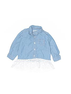 Arizona Jean Company Long Sleeve Button-Down Shirt Size 6 mo