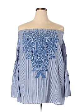 INC International Concepts 3/4 Sleeve Blouse Size 3X (Plus)