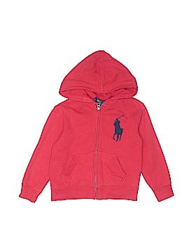 Polo by Ralph Lauren Zip Up Hoodie Size 4T