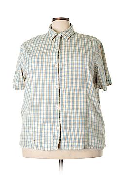 Genuine Sonoma Jean Company Short Sleeve Button-Down Shirt Size 3X (Plus)