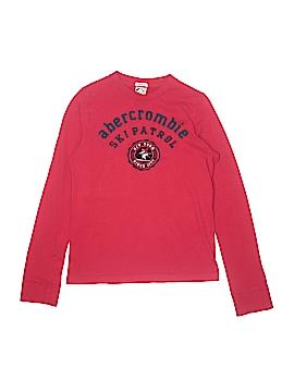 Abercrombie Long Sleeve T-Shirt Size X-Large (Kids)