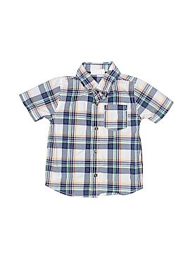 Crazy 8 Short Sleeve Button-Down Shirt Size 18-24 mo