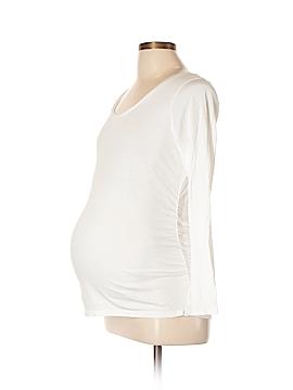 Liz Lange Maternity Long Sleeve T-Shirt Size L (Maternity)
