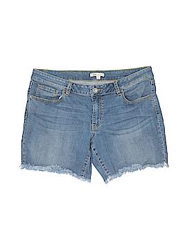 CAbi Denim Shorts Size 12