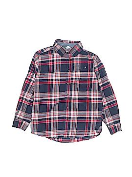 Gymboree Long Sleeve Button-Down Shirt Size 7 - 8