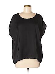 Frenchi Women Short Sleeve Blouse Size M