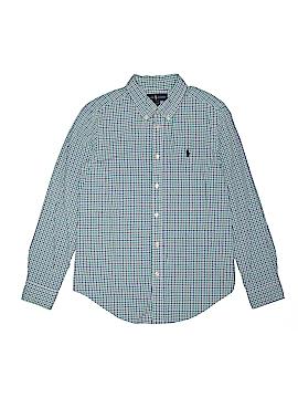 Ralph by Ralph Lauren Long Sleeve Button-Down Shirt Size L (Kids)