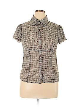 B-Works Short Sleeve Blouse Size XL