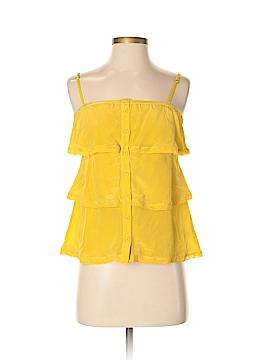 Velvet Heart Sleeveless Silk Top Size S
