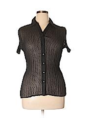 Laura Scott Women Short Sleeve Blouse Size XL