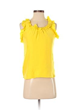 Britt Ryan Sleeveless Silk Top Size 2