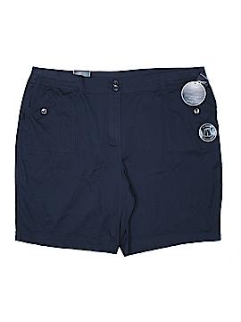 Karen Scott Khaki Shorts Size 24 (Plus)