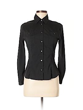 Intermix Long Sleeve Button-Down Shirt Size 38 (EU)