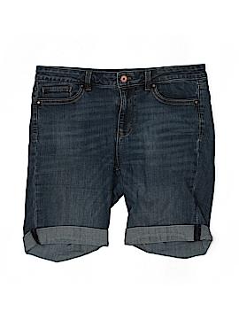 White House Black Market Denim Shorts Size 8