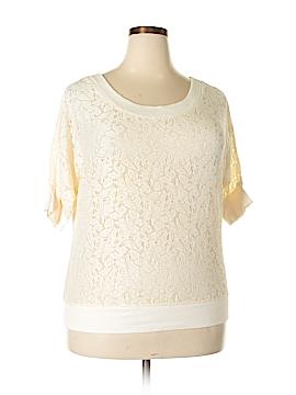 Xhilaration Short Sleeve Blouse Size 1X (Plus)