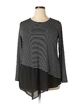 Karen Kane Long Sleeve Top Size 1X (Plus)