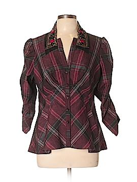 Nanette Lepore Long Sleeve Blouse Size 12