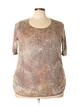B.l.e.u. Short Sleeve T-Shirt Size 3X (Plus)