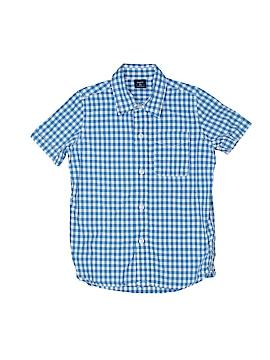 Gap Kids Short Sleeve Button-Down Shirt Size 4 / 5