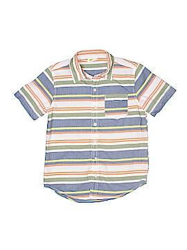 Crazy 8 Short Sleeve Button-Down Shirt Size 7 - 8