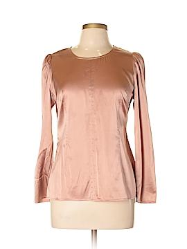 Ann Taylor Long Sleeve Silk Top Size 12 (Petite)