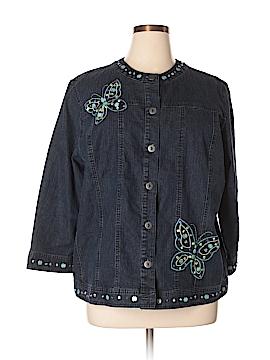 Alfred Dunner Denim Jacket Size 16W