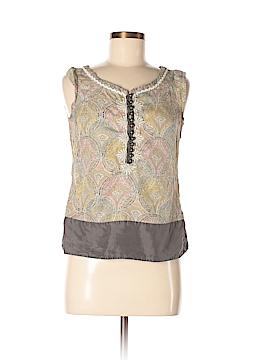 Floreat Sleeveless Silk Top Size 6