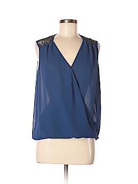 Bisou Bisou Sleeveless Silk Top Size M