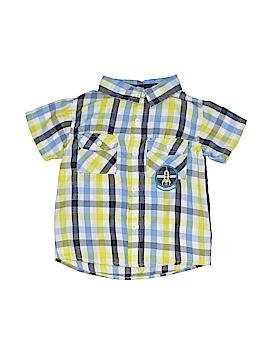 Little Rebels Short Sleeve Button-Down Shirt Size 3T