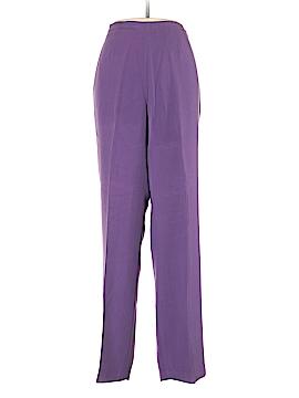 Nancy Bolen City Girl Silk Pants Size M
