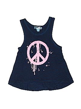 Bottlecapps Sleeveless T-Shirt Size 6X