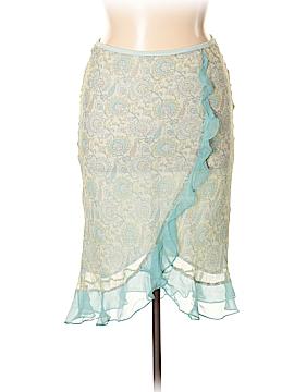 Express Silk Skirt Size L