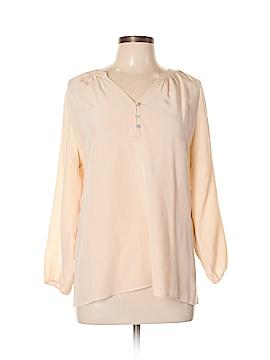 Max Studio 3/4 Sleeve Silk Top Size L