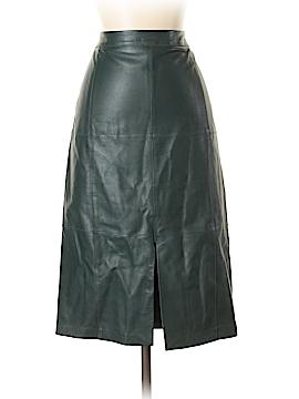White House Black Market Leather Skirt Size 2