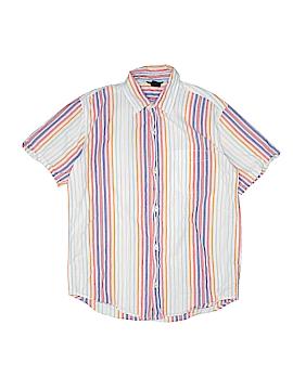 Gap Kids Short Sleeve Button-Down Shirt Size 12