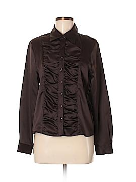 Uniform John Paul Richard Long Sleeve Blouse Size M