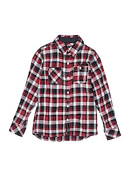 Sean John Long Sleeve Button-Down Shirt Size S (Youth)