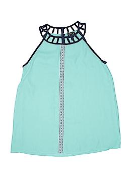 Monteau Girl Sleeveless Blouse Size 14