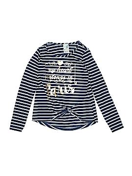 Lily Bleu Long Sleeve Top Size 14