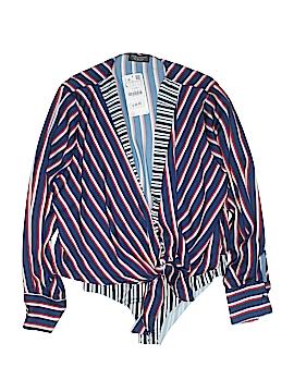 Zara Long Sleeve Blouse Size L