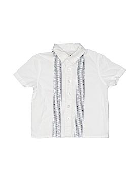 Cherokee Short Sleeve Button-Down Shirt Size 18 mo