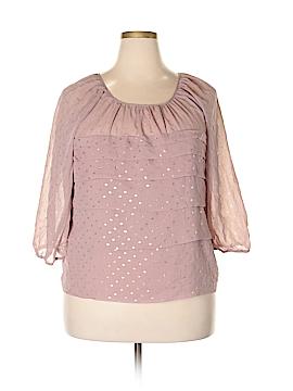 Elementz 3/4 Sleeve Blouse Size XL