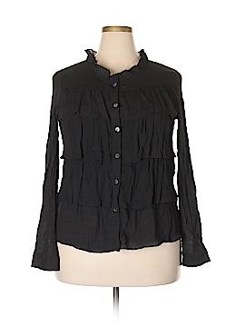 Lady Noiz Long Sleeve Blouse Size XL