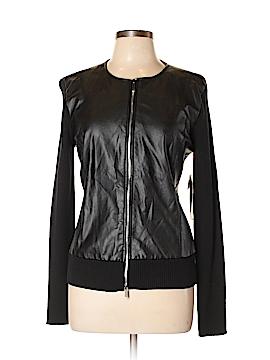 AK Anne Klein Faux Leather Jacket Size L