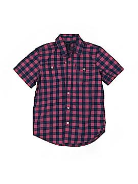 Gap Kids Short Sleeve Button-Down Shirt Size S (Kids)